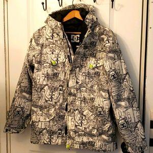 Boys snow board jacket